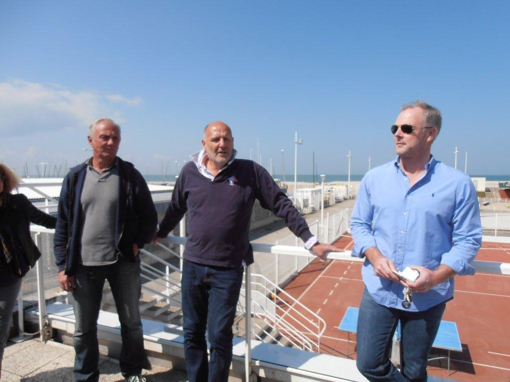 Le Président du CNH, Pierre Jean Baudouard, accueille les nouveaux partenaires