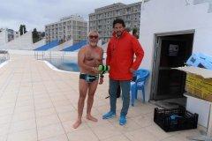 1er nageur de la saison