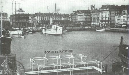 1932, Création du Club Nautique Havrais bassin du Commerce.