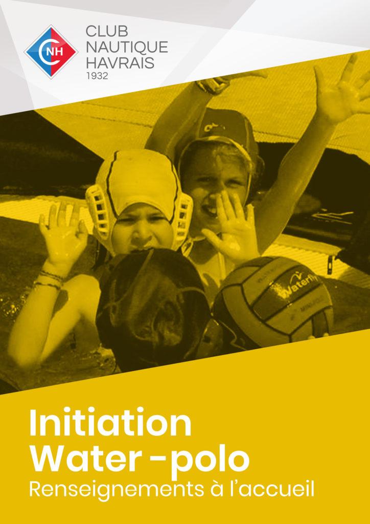 Initiation Water Polo - CNH - Club Nautique Havrais