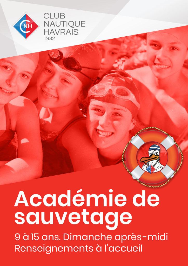 Academié de savetage - CNH - Club Nautique Havrais