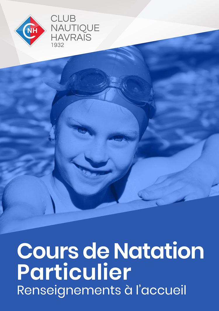 Cours de Natation Particulier - CNH - Club Nautique Havrais